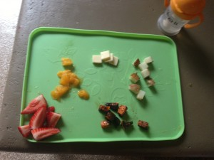 strawberries, oranges, roasted sweet potatoes, white potatoes & raw milk cheese