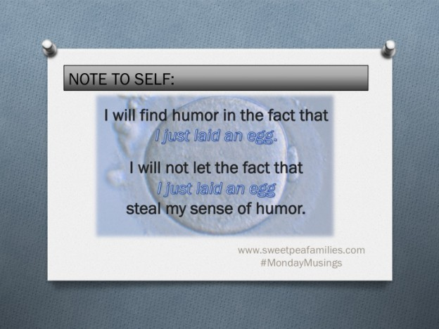 Affirmation: Using Humor to deal with PMS