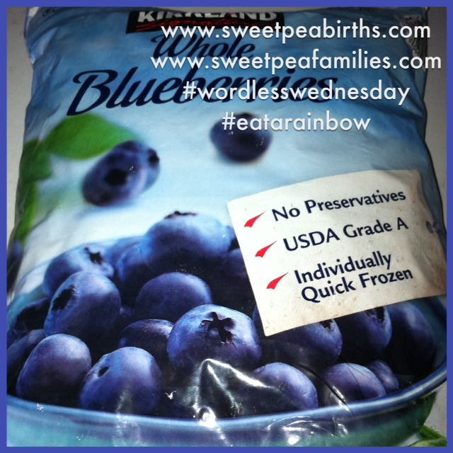 Blue produce contains vitamin C, flavonoids and lutein. Blue produce also helps maintain urinary health, improve memory function, lower the risk of certain cancers and supports healthy aging.