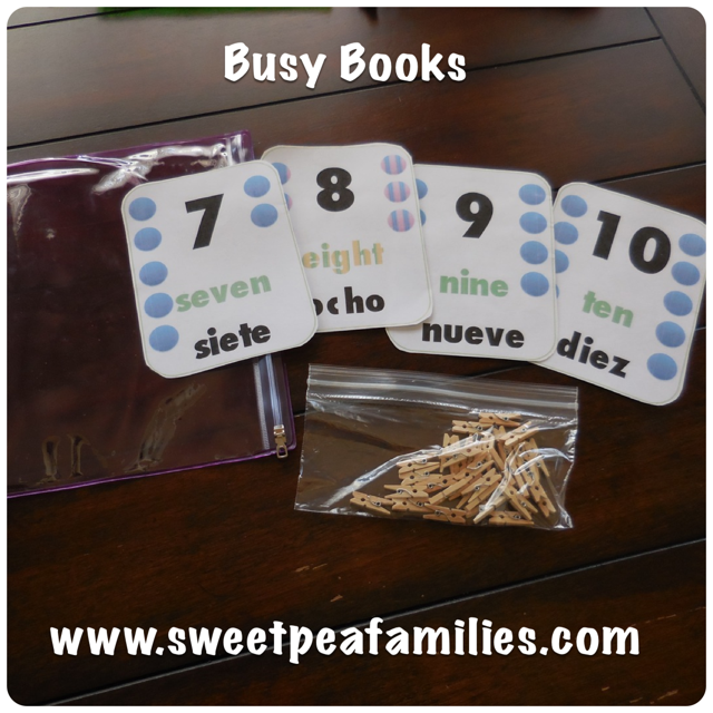 BLOG Busy Book Numbers