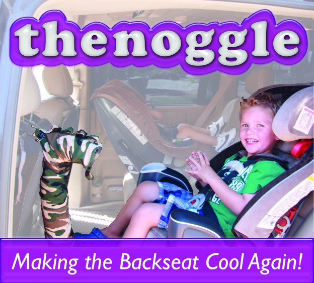 the noggle™ - product designed by two AZ dads to make the back seat cool again!