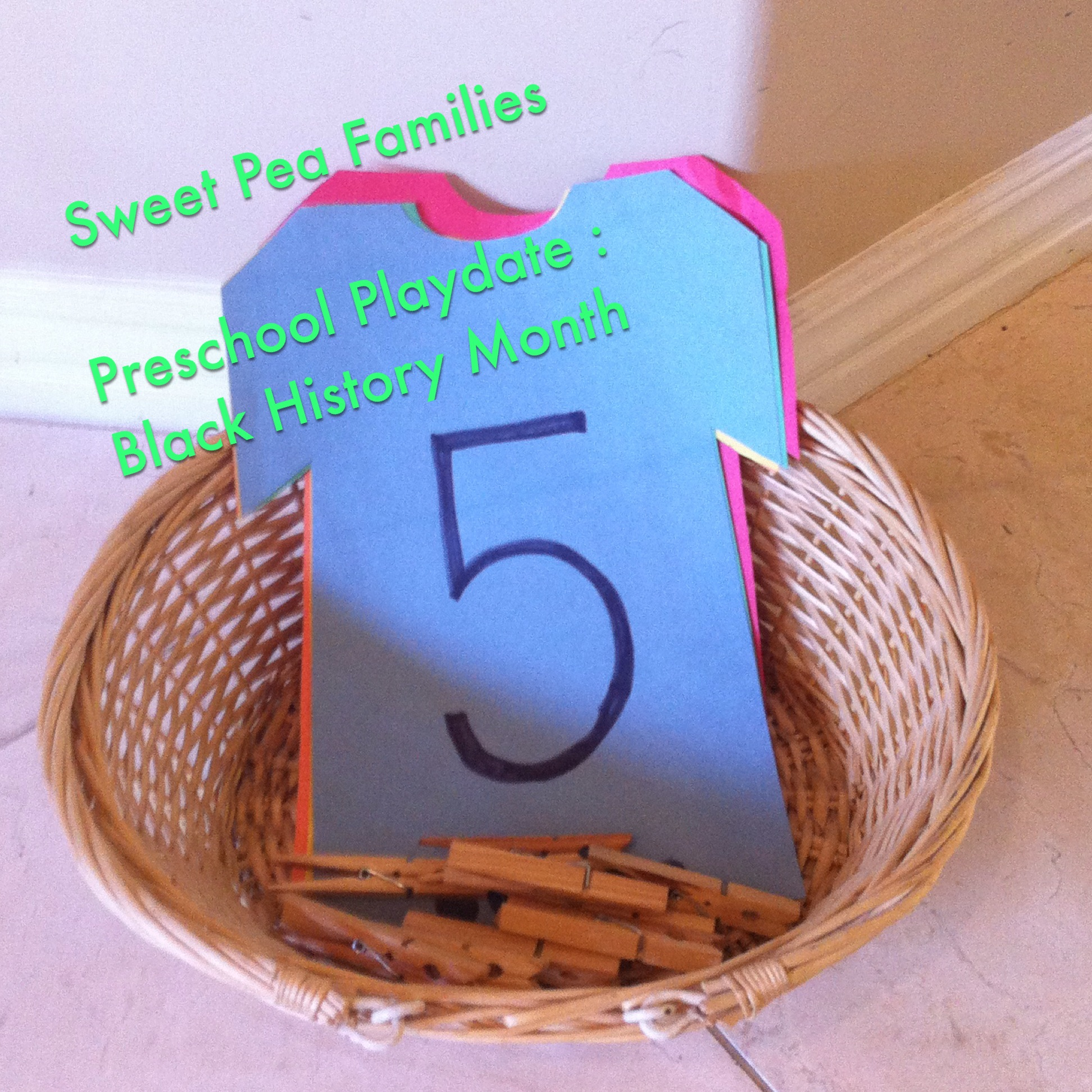 Black history month sweet pea families for African arts and crafts history