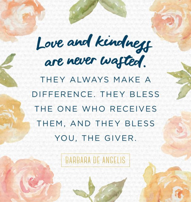 Inspirational Quotes For Kindness Day: Sweet Pea Families
